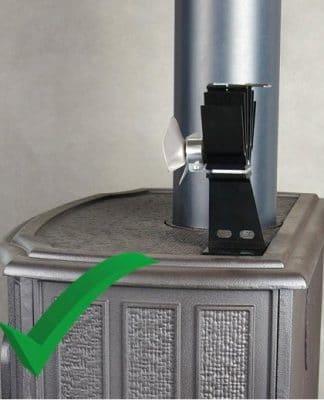 Ekologický krbový ventilátor